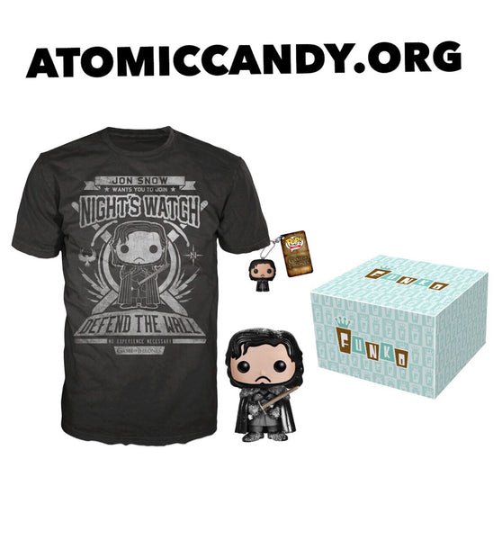 Funko Game Of Thrones Jon Snow Bundle pack