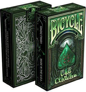Call of Cthulhu Playing Cards - Limited