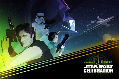 Star Wars Anaheim Promotional Poster 2015