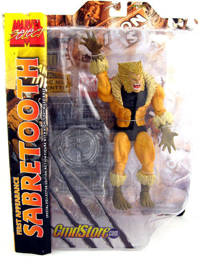Marvel Select: First Appearance Sabretooth Action Figure Exclusive