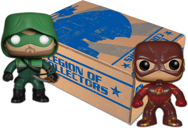 DC Legion Of Collectors Flash and Arrow Funko Box USA