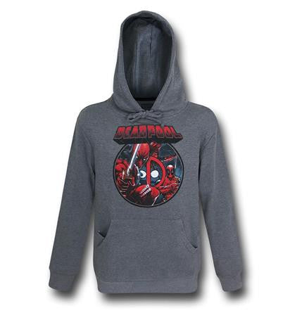 Deadpool Image Circle Pullover Hoodie t shirt