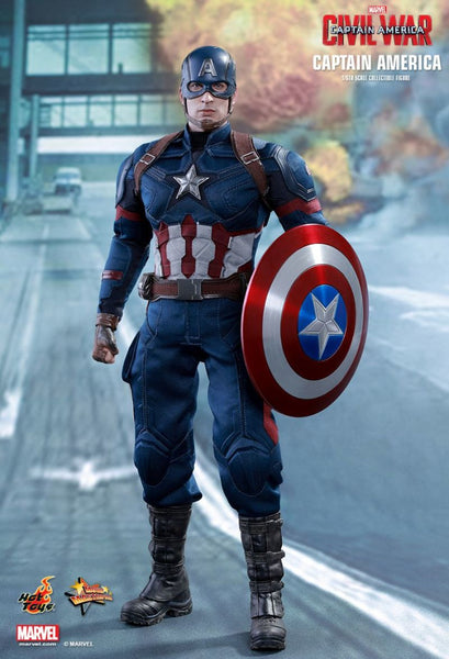 Marvel Hot Toys Captain America Civil War Version