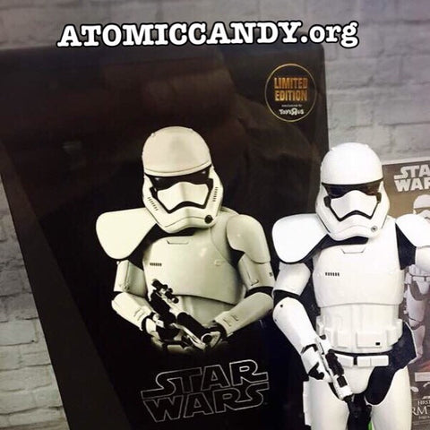 STAR WARS HOT TOYS EXCLUSIVE STROMTROOPER COMMANDER WHITE