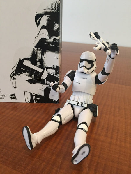 SDCC Star Wars Loose Hasbro TFA FO Storm Trooper