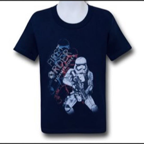 First Order Navy Blue T Shirt