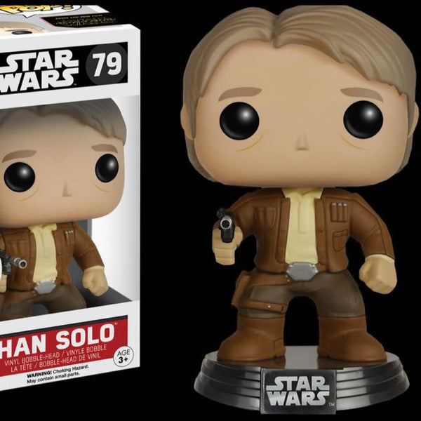Force Awakens Star Wars Han Solo Funko Pop Vinyl
