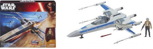 STAR WARS Hasbro: TFA Poe Dameron's Blue X-Wing