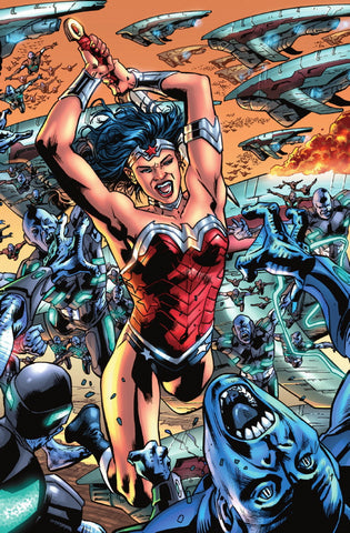 JUSTICE LEAGUE OF AMERICA #1 CONNECTING SET (COVERS BY BRYAN HITCH)