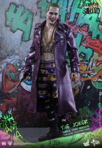 DC Hot Toys Suicide Squad Joker with Coat