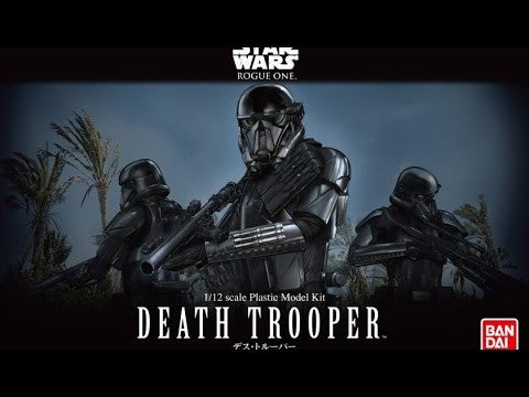 BANDAI DEATH TROOPER 1/12th scale model kit Star Wars