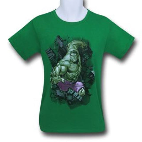 Hulk Smash Green T Shirt