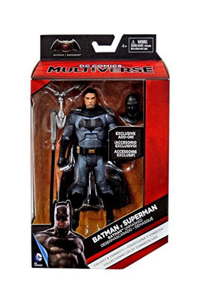 DC MULTIVERSE BATMAN UNMASKED EXCLUSIVE 6.75""