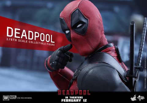 Hot toys DEADPOOL marvel