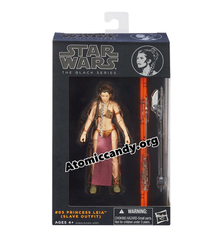 Star Wars The Black Series Princess Leia (Slave Outfit) Figure 6 Inches