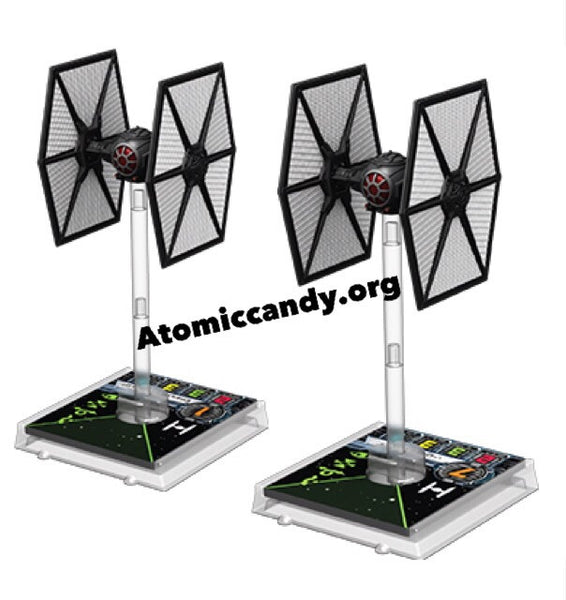 X wing miniature TFA tie fighter expansion pack