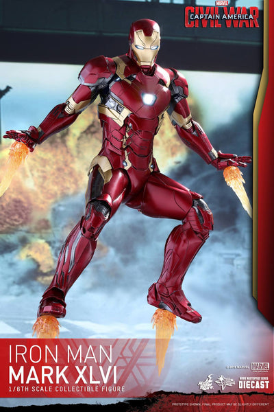 Hot Toys Diecast Captain America: Civil War – Iron Man Mark 46