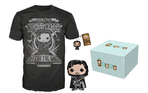 Funko Game of Thrones Jon Snow Bundle exclusive
