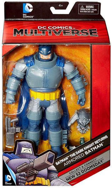 DC Comics Batman: Dark Knight Returns Multiverse Armored Batman Action Figure [Build New 52 Doomsday]