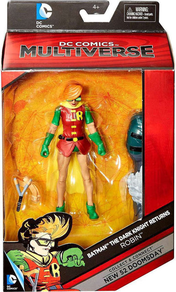 DC Comics Batman: Dark Knight Returns Multiverse Robin Action Figure [Build New 52 Doomsday]
