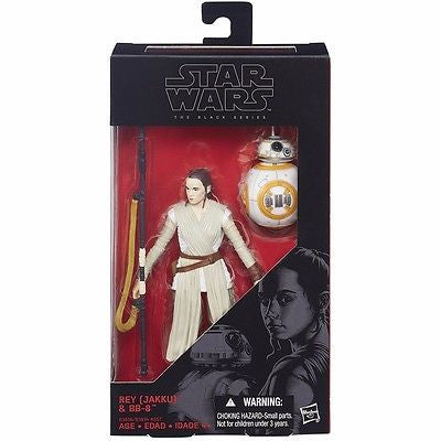 Star Wars Hasbro BLACK SERIES REY 6'