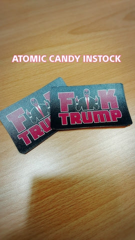 DEADPOOL F TRUMP MRT METRO PASS CARD STICKER