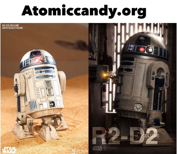 Star Wars Side Show R2D2 Delux 1/6 scale