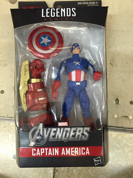 Marvel LEGENDS CAPTAIN AMERICA AOU HULKBUSTER EXCLUSIVE WAVE