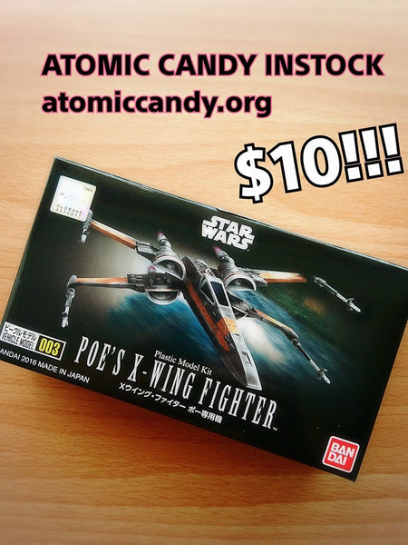 Bandai Poe X wing fighter box model 003