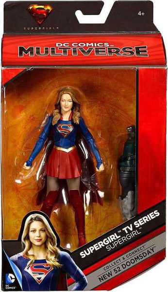 DC Comics Superman TV Multiverse Supergirl Action Figure [Build New 52 Doomsday]