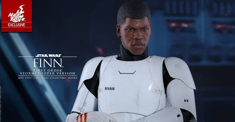 "Hot Toys Star Wars The Force Awakens – Finn ""FN-2187"" First Order Stormtrooper Version"