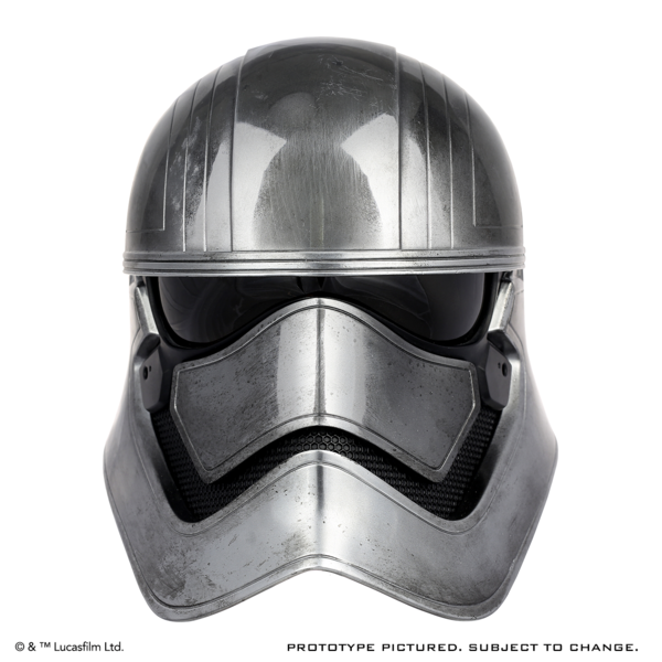 ANOVOS - Star Wars Captain Phasma Helmet Pre Order