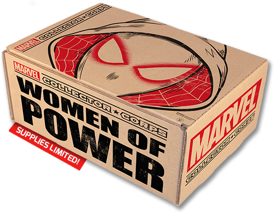 Marvel Funko Collector Corp Women Of Power July