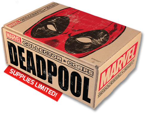 FUNKO MARVEL COLLECTOR CORP FEB BOX DEADPOOL