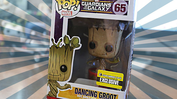 FUNKO Entertainment Earth Exclusive Dancing Groot