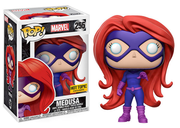 FUNKO Pop Marvel: Inhumans Hot Topic exclusive Medusa