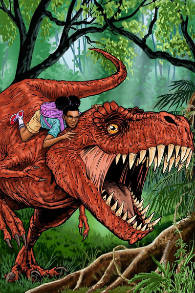 MOON GIRL AND DEVIL DINOSAUR #5 GUIERRA WOMEN OF POWER VARIANT