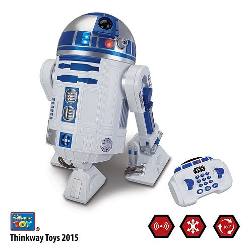 R2-D2™ INTERACTIVE ROBOTIC DROID Think Way Disney Exclusive
