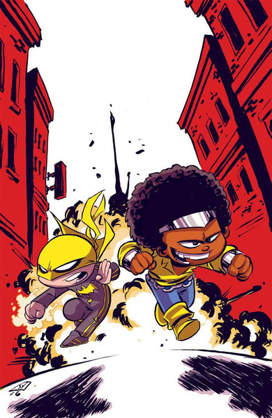 POWER MAN AND IRON FIST VOL 3 #1 SKOTTIE YOUNG BABY VARIANT