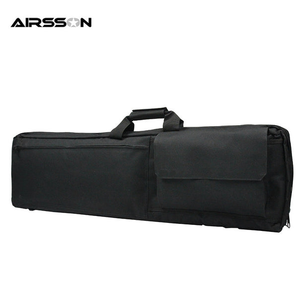 "100CM 38"" Tactical Heavy Duty Shockproof Gun Rifle Carrying Shoulder Case Bag Military Combat Protecting Waterproof Gun Pouch"