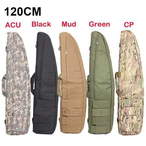 120cm Hunting Gun Rifle Bag Outdoor Tactical Carrying Bags Military Gun Case Shoulder Pouch For Airsoft Shooting Painting Games
