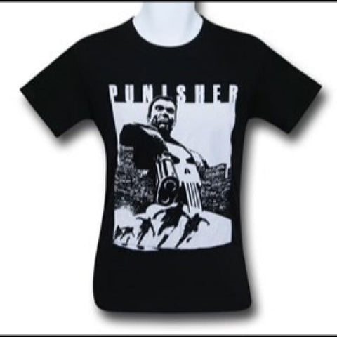 Punisher Kills Black T Shirt