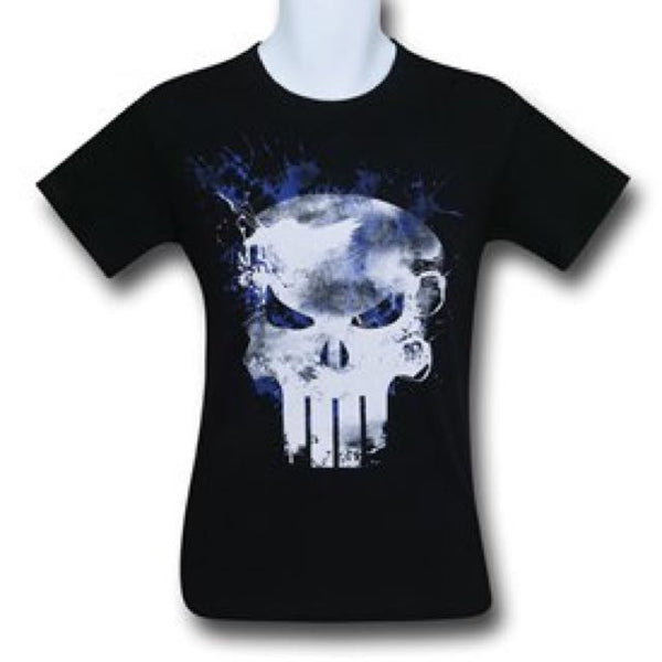 Purple Smoke Punisher T Shirt
