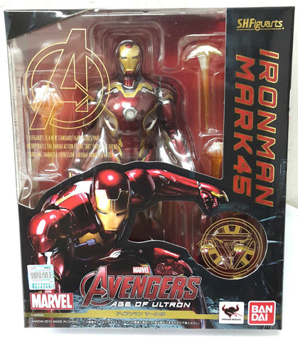 BANDAI S.H.Figuarts AVENGERS AGE OF ULTRON IRONMAN MARK 45 ACTION FIGURE