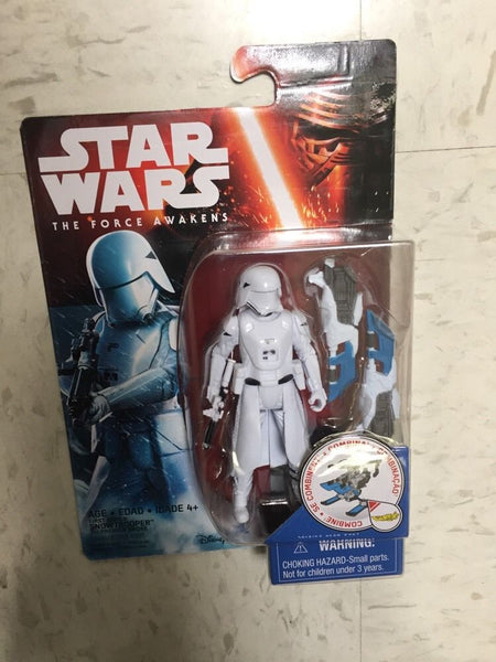 "First Order SNOWTROOPER Star Wars The Force Awakens figure 3.75""3 3/4 Wave 2"
