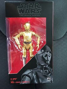 Star Wars Walgreen Exclusive 3cpo Black series 6""