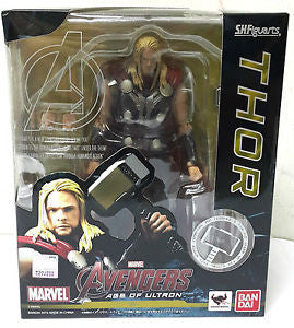 BANDAI S.H.Figuarts AVENGERS AGE OF ULTRON THOR ACTION FIGURE