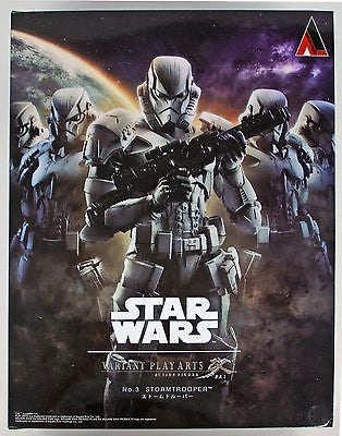 Star Wars Stormtrooper Play Arts Kai Variant Japan Square Enix