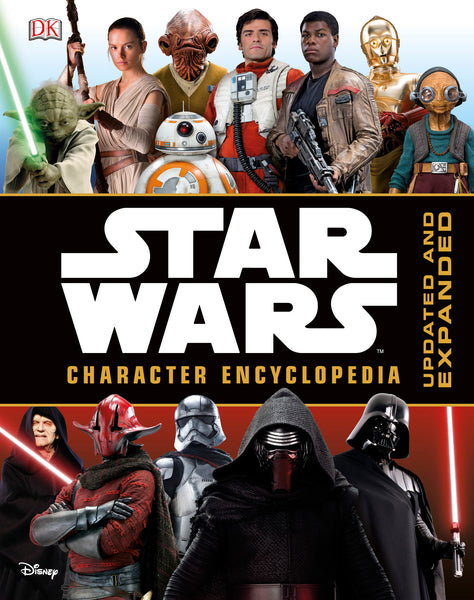 Star Wars Character Encyclopedia Updated and Expanded Edition HC