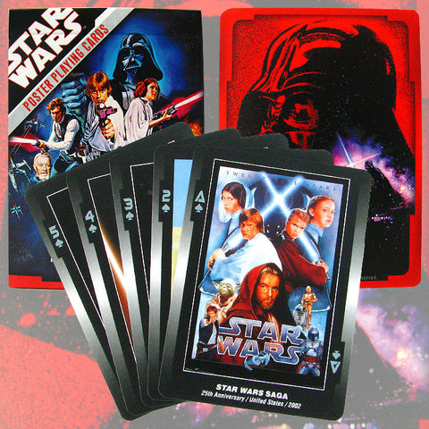 Star Wars Collectors Deck Poster Playing Cards - Single Deck